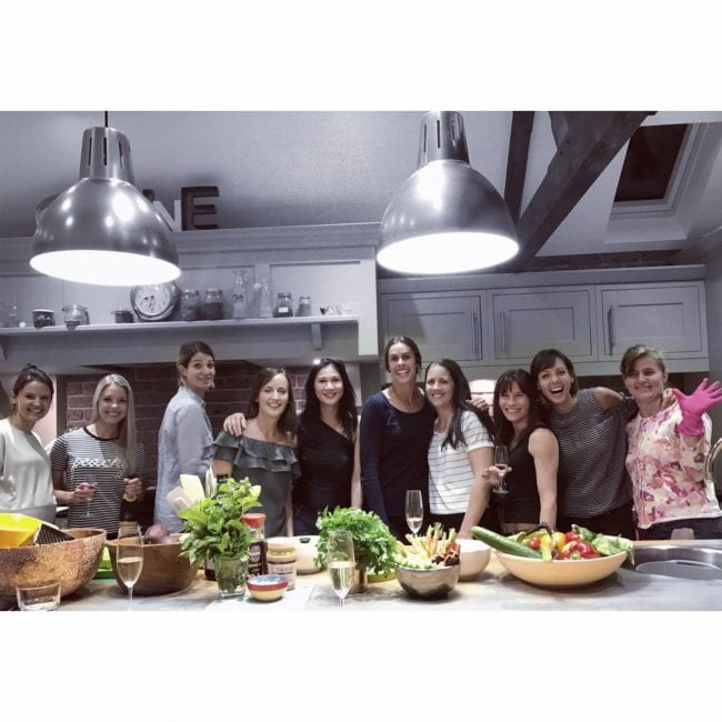 Supperclub ladies cooking
