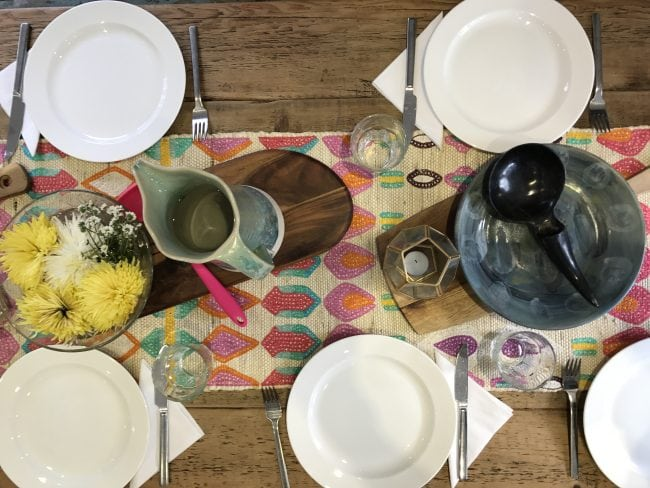 superfood supperclub table