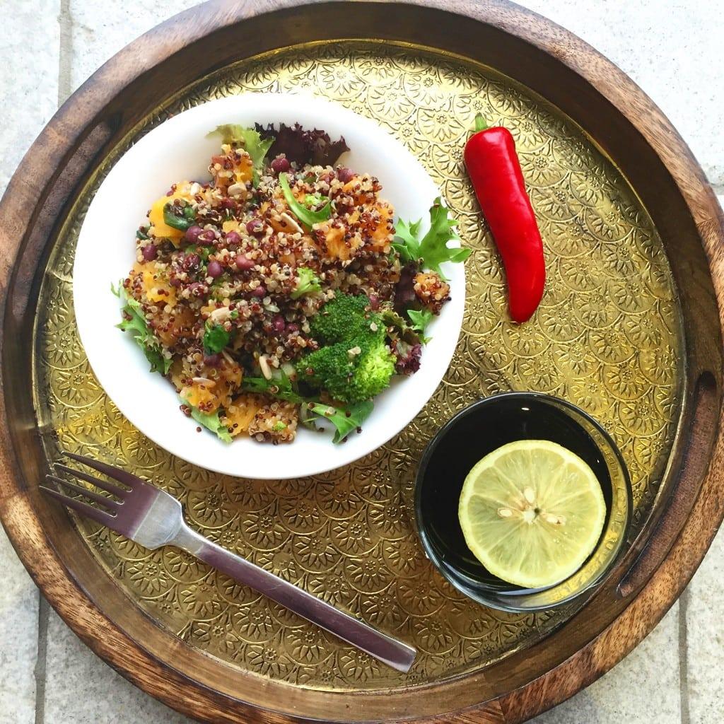 Spicy Quinoa Bowl