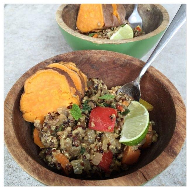Veggie Quinoa Curry