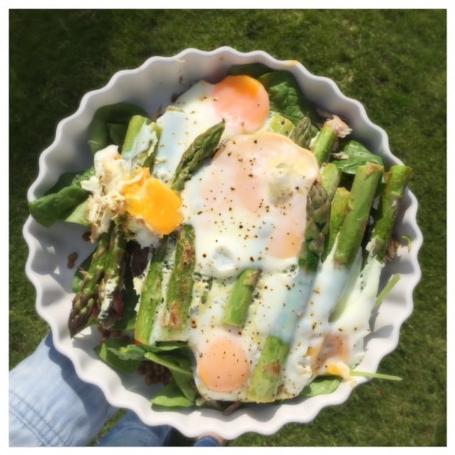 Asparagus and Egg Bowl