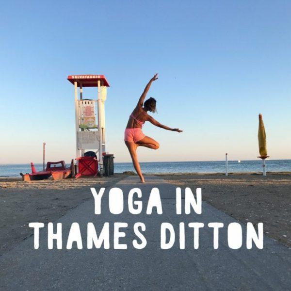 Dani yoga Thames Ditton