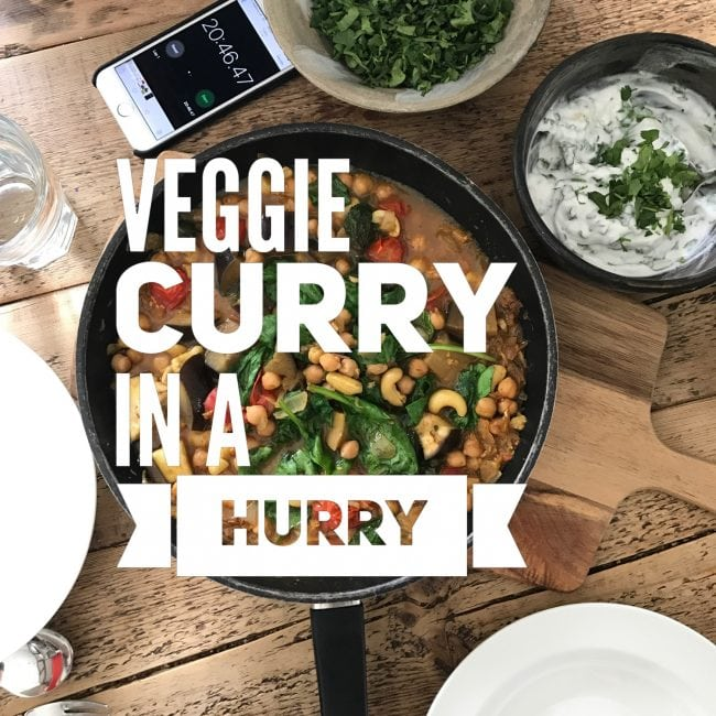veggie curry inn a hurry