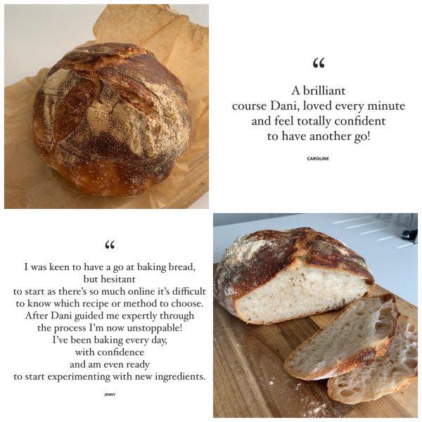 sourdough bread baking beginners course
